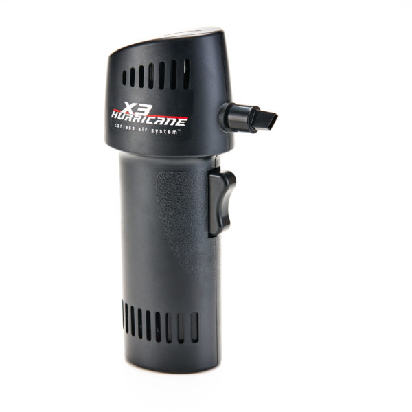 X3 Hurricane Black Canless Air System